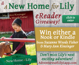 A New Home for Lily Suzanne Woods Fisher Mary Ann Kinsinger Nook Kindle Giveaway
