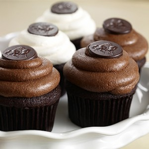 Share Your Bliss Godiva cupcakes
