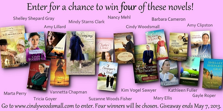 amish authors giveaway