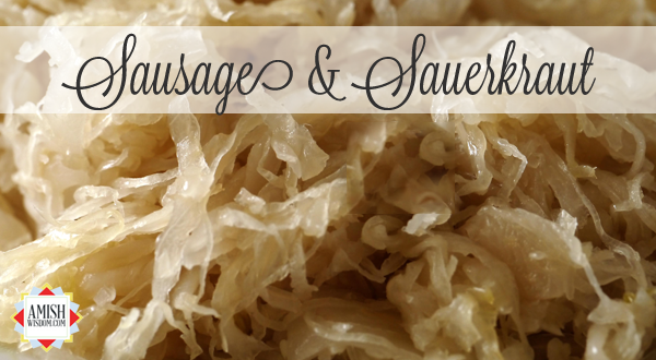 aw-cc-sausage and sauerkraut