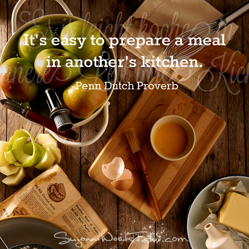 penn dutch proverb - kitchen