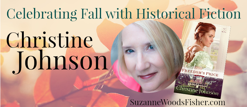 Celebrating fall with historical fiction Christine Johnson