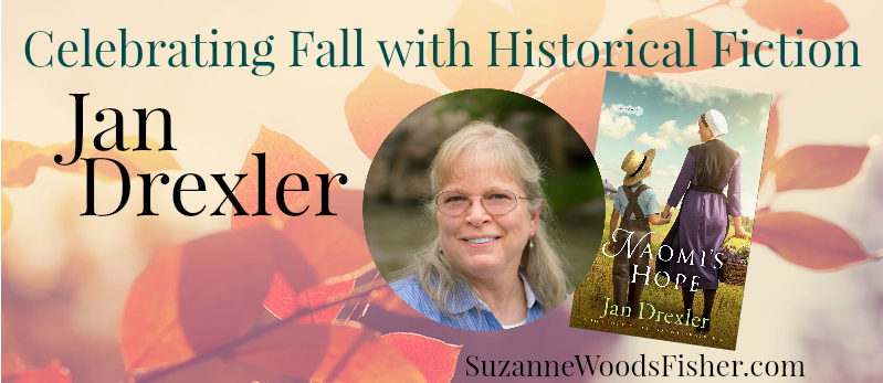 Celebrating fall with historical fiction Jan Drexler