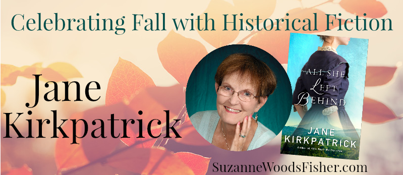 Celebrating fall with historical fiction Jane Kirkpatrick