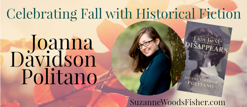 Celebrating fall with historical fiction Joanna Davidson Politano