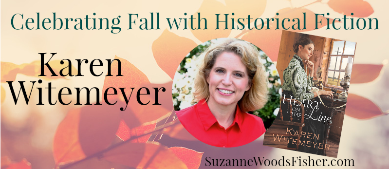 Celebrating fall with historical fiction Karen Witemeyer