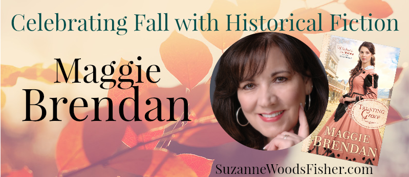 Celebrating fall with historical fiction Maggie Brendan
