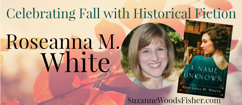 Celebrating fall with historical fiction Roseanna M. White