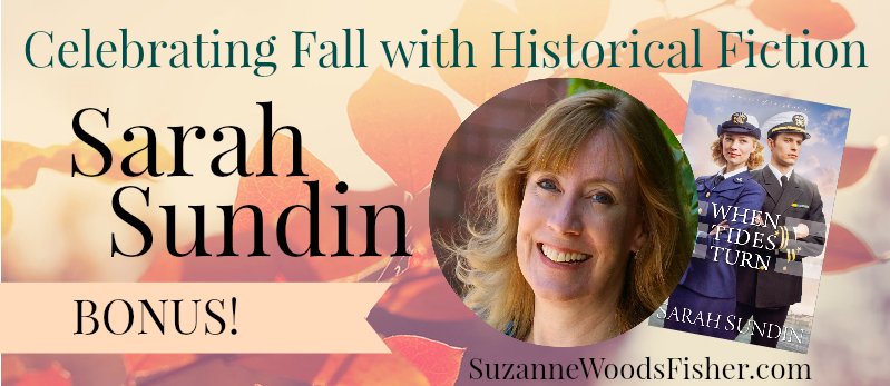 Celebrating fall with historical fiction Sarah Sundin