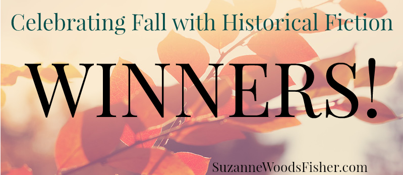 Winners Celebrating fall with historical fiction-2