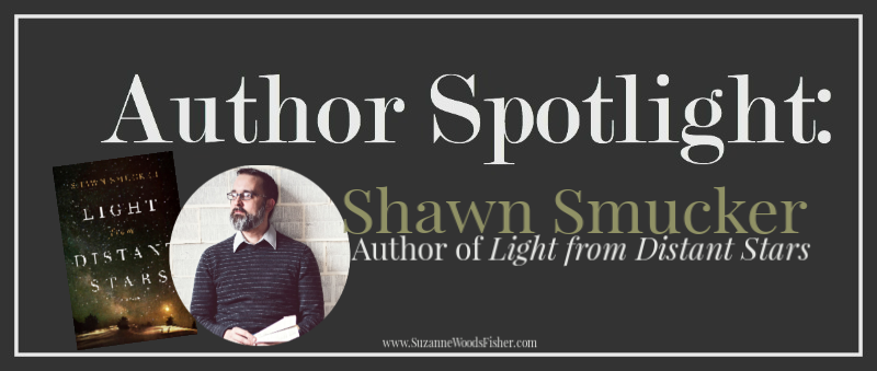 Author Spotlight with Shawn Smucker | Suzanne Woods Fisher